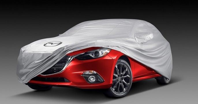 Mazda in cover